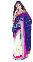 Bhavi Floral Print Chiffon, Georgette Sari