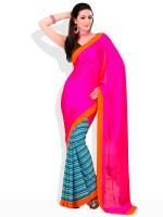 Adaas Solid Silk Sari