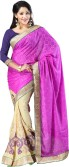 Saree Sansar Embriodered Bollywood Crepe Sari