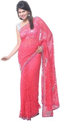 Aarti Saree Self Design Fashion Brasso Sari available at Flipkart for Rs.2744