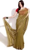 Fabindia Solid Cotton Sari