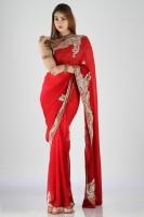 Bhavish Printed Georgette Sari