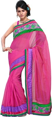 Triveni Self Design Fashion Cotton Sari