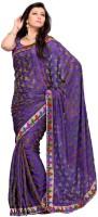 Mehak Floral Print Net Sari