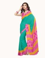 De Marca Printed Crepe Sari