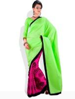 Adaas Striped Silk Sari