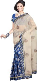 Sati Floral Print Fashion Cotton, Art Silk Sari