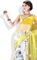 Adaas Geometric Print Silk Sari