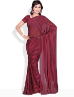 Florence Striped Synthetic Sari