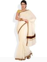 Ennthra Floral Print Cotton Sari