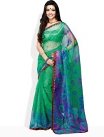 Tamanna Fashions Floral Print Cotton Sari