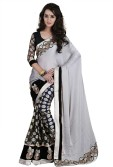 Saree Sansar Embriodered Bollywood Viscose Sari