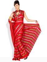 Florence Floral Print Synthetic Sari