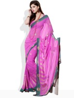 Seymore Floral Print Synthetic Sari