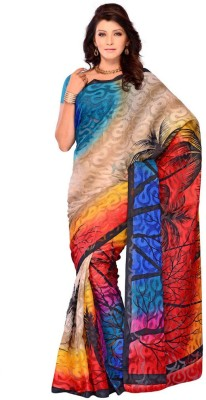 Fashion Saree Printed Daily Wear Brasso Sari available at Flipkart for Rs.2500