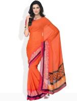 Manvi Geometric Print Chiffon Sari