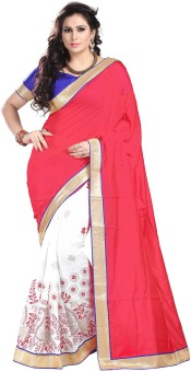 Sareeka Sarees Self Design Bollywood Cotton Sari