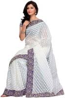 Mehak Solid Jacquard Sari