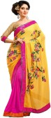 Saree Hub Embriodered, Embellished Fashion Pure Chiffon, Georgette Sari