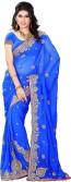 Fashion Saree Embriodered Daily Wear Art Silk Sari