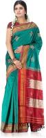 Indusdiva Floral Print Silk Sari