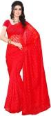 Fashion Saree Embriodered Daily Wear Brasso Sari