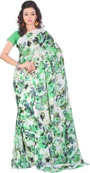 Lookslady Printed Fashion Georgette Sari