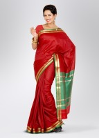 Urban Vastra Printed Silk Sari