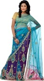 Saree House Self Design Bollywood Net Sari