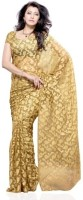 Dealtz Fashion Striped Net, Brasso Sari