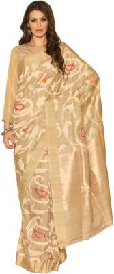 Rangoli Rangoli Self Design Daily Wear Silk Sari (Multicolor)
