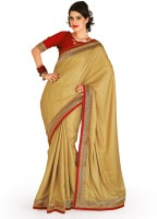 Chirag Sarees Self Design Embroidered Embellished Crepe Sari - SARDWMQFJGJHJGZ6