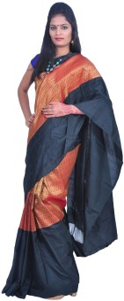 Uppada Self Design Kanjivaram Silk Sari