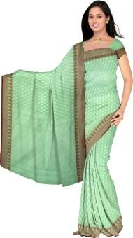Sweta Saree Printed Banarasi Handloom Banarasi Silk Sari