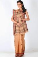 Sareez Striped Cotton Sari