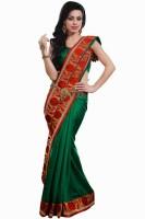 Sareez Solid Art Silk Sari