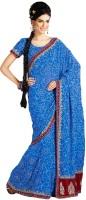 Samyakk Solid Georgette Sari