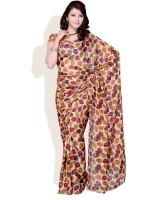 Diva Fashion Printed Georgette Sari