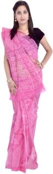 Fab Rajasthan Printed Kota Doria Cotton Sari