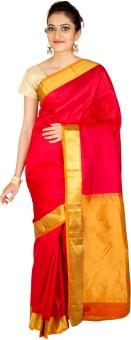 Thara Sarees Solid Kanjivaram Silk Sari