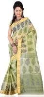 Ansu Fashion Floral Print Cotton Sari