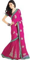 Samyakk Floral Print Georgette Sari