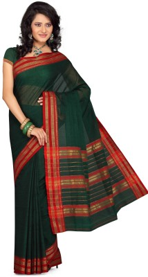 Ishin Striped Cotton Sari available at Flipkart for Rs.699