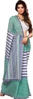 Taanshi Floral Print Cotton Sari - SAREFXYVDAJXZHSU