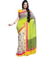 Taanshi Printed Art Silk Sari