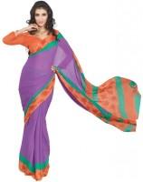De Marca Printed Satin Sari