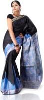 Indusdiva Solid Silk Sari