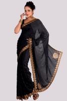 Aparnaa Printed Embroidered Embellished Jacquard Sari
