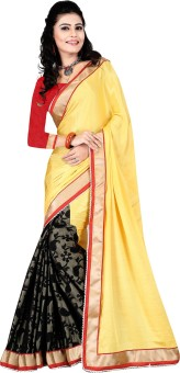 Astha Fashion Self Design, Printed, Floral Print Fashion Crepe Sari
