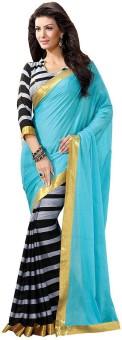 Nidhik Printed Bhagalpuri Art Silk Sari Pack Of 2